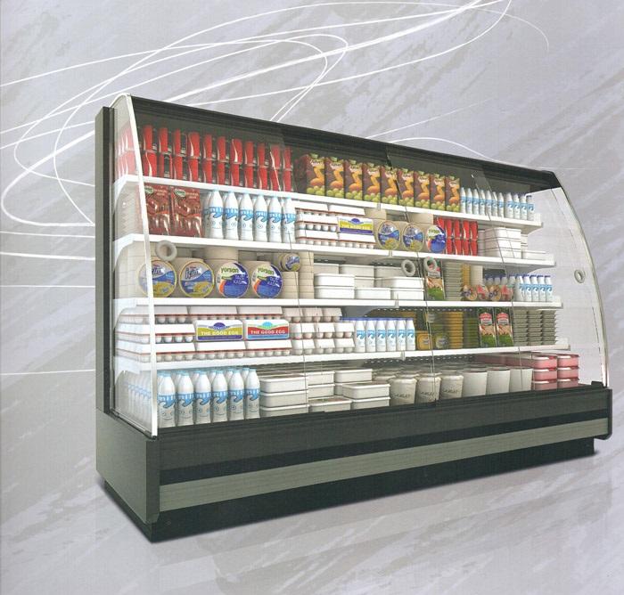 فریزر طبقاتی فروشگاهی